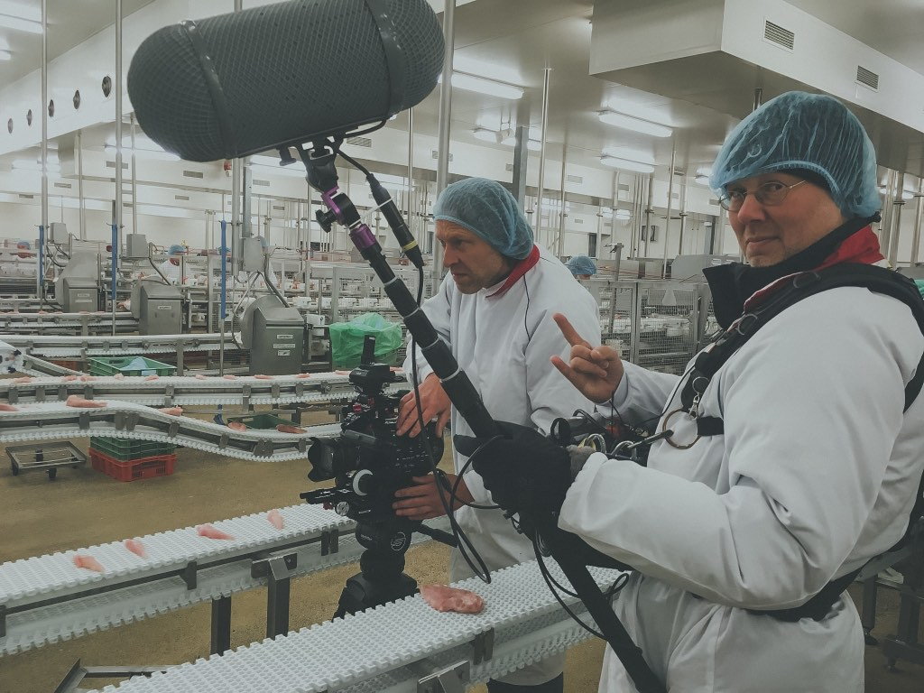 Recruitment video opnames - Pasta media