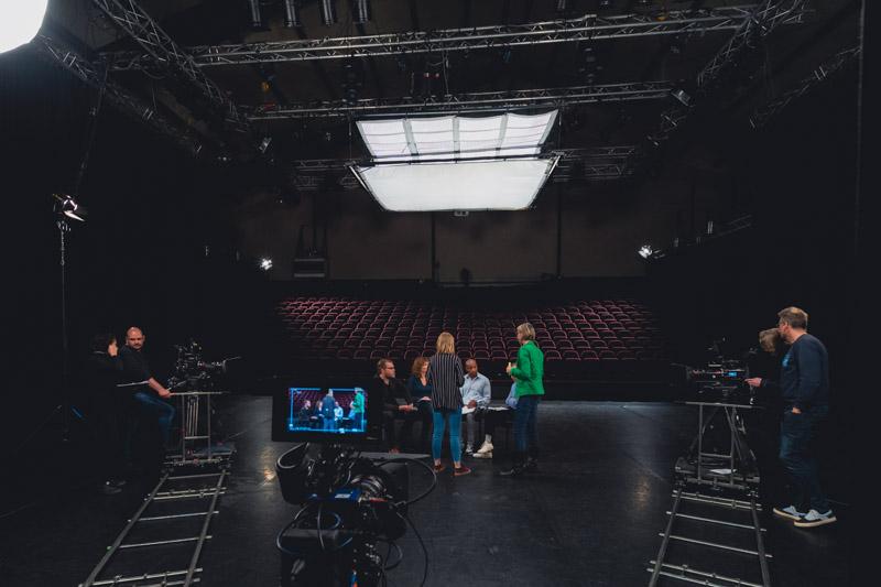Impact campagne - studio - achter de schermen