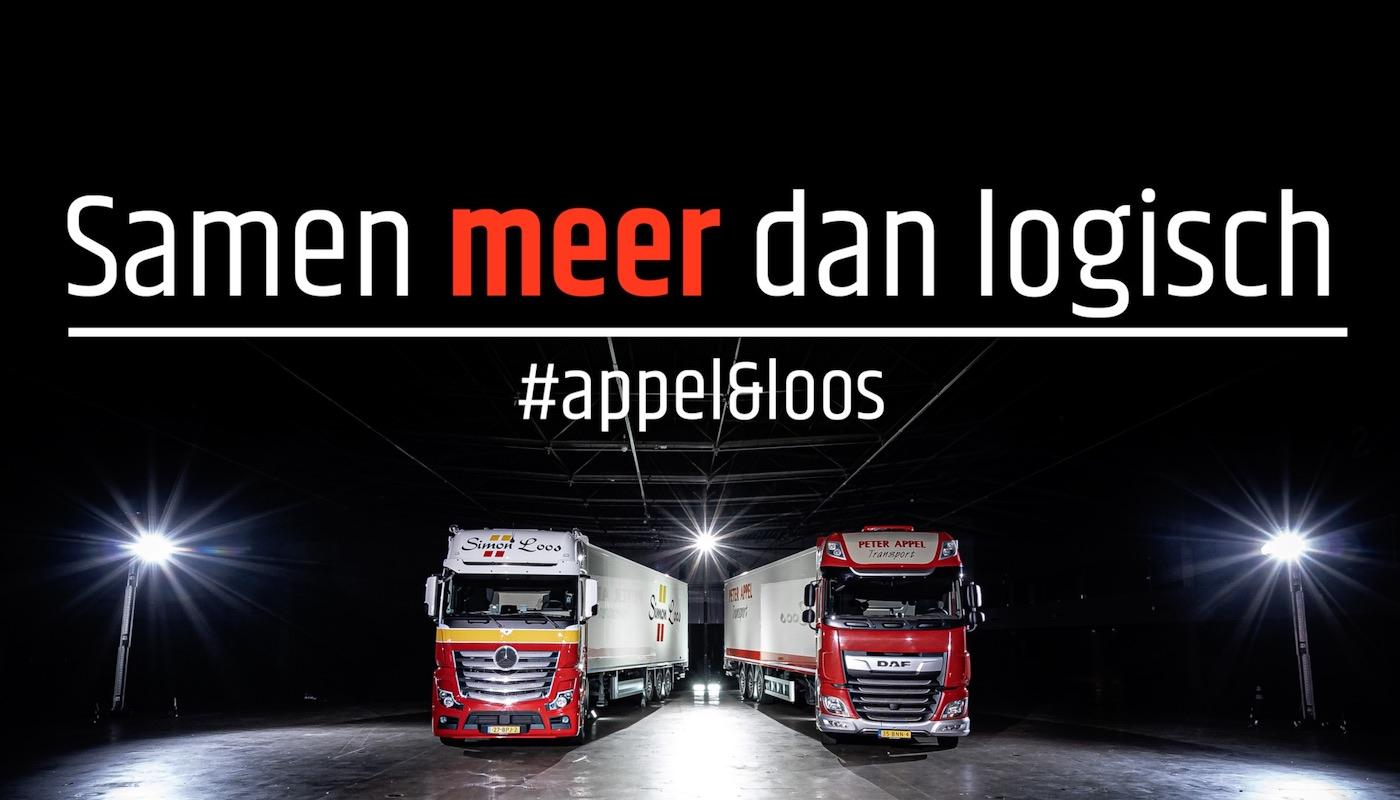 Fusie Loos en Appel transport